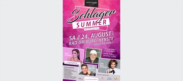 Schlager-Summer - Das Open-Air-Event in Bad Driburg im August 2019
