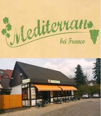 Pizzeria Mediterran bei Franco in Bad Driburg