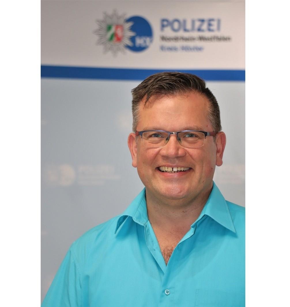 Kriminaloberkommissar Albert Ecke tritt die Nachfolge von Kriminalhauptkommissar Gilbert Schulte an