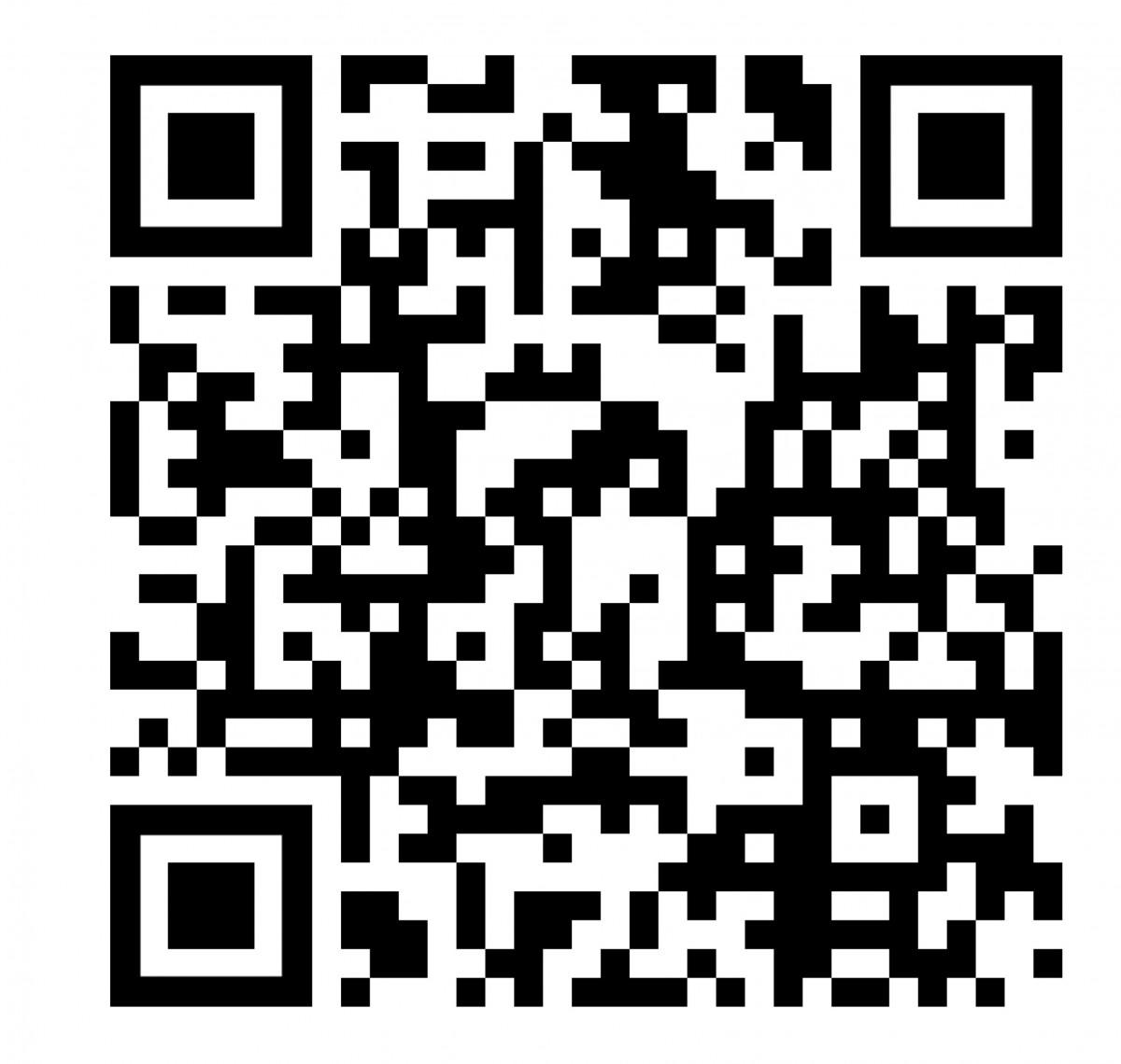 """QR Code führt direkt zum Projekt """"Kurpark 2030"""":"""